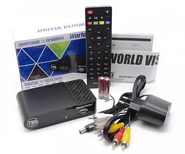 Цифровой эфирный Тюнер T2 World Vision T65