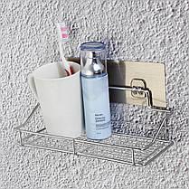 Нержавеющая сталь Ванная комната Кухонная полка для хранения кухонной стойки Корзина для мусора без ржавчины Caddy Tidy - 1TopShop, фото 2