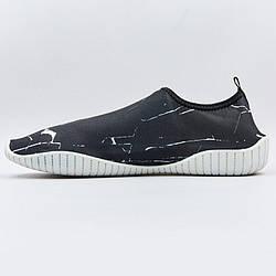 Обувь для пляжа и кораллов ZS002 (26см (40-41), Черный-белый)