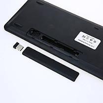 XUEME ультратонкий 2.4G беспроводной портативный Клавиатура с сенсорной панелью Dual System Universal Touch Мышь Подходит для ноутбуков / настольных, фото 2
