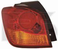 Фонарь задний правый внешний Mitsubishi ASX LED + W21W (DEPO)