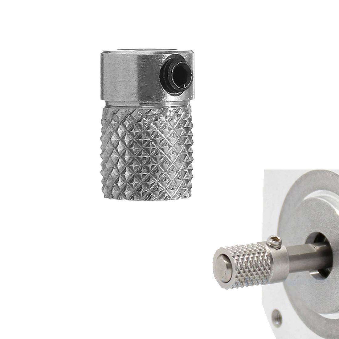 5шт 12 * 8 мм Ultimaker2 из нержавеющей стали Оригинальное колесо для экструзионного колеса с накаткой для 3D-принтера - 1TopShop