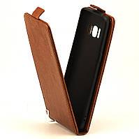 Чохол Idewei для Samsung S8 / G950 Фліп вертикальний шкіра PU коричневий