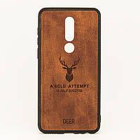 Чехол Deer для Meizu M8 / M813H бампер накладка Коричневый