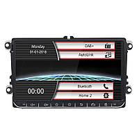 9 дюймов 1080P 2 Din Авто MP5-плеер FM / DAB + Autolink European Digital Радио Приемник для Volkswagen - 1TopShop