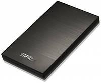 Переносной диск Hdd 2.5 1TB Silicon Power USB3.0 Diamond D05 Iron Gray