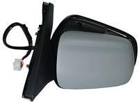 Зеркало левое электрическое с обогревом под покраску выпуклое Mazda 5 05- (VIEW MAX)