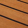 240см х 45см х 6мм Коричневый лист из тикового пенопласта EVA Лодка Яхта из синтетического тикового дерева с клеем - 1TopShop, фото 3
