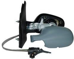 Зеркало левое механическое под покраску асферическое Renault Megane -02 (FPS)
