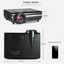 BYINTEKMOONBT96PlusLCDSmartПроектор 2G + 16G 600ANSI 1280 * 800P Полная поддержка HD 1080P 5000: 1 Контрастность Домашний кинотеатр Проектор -, фото 2