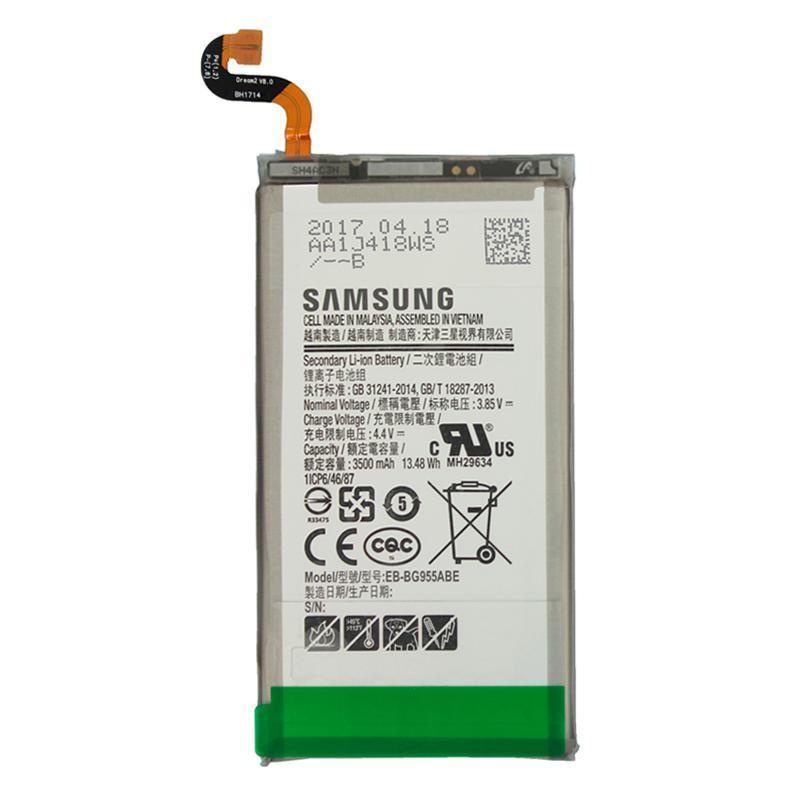 Аккумулятор (батарея) для Samsung G955 (S8 Plus) (BE-BG955ABE) (высокое качество)