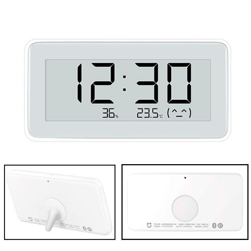 Часы с датчиком климата мини метеостанция Xiaomi Mijia LYWSD02MMC