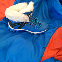 Зимние ботинки на меху для девочки 36 -41 р-р, фото 1