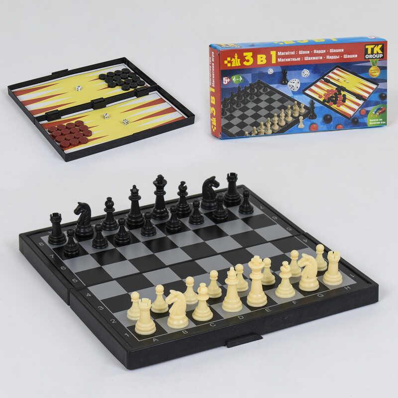 Шахматы магнитные 3 в1 ТК 23703 36 TK Group - 220868