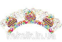 Декор День Рождения набор 24 шт