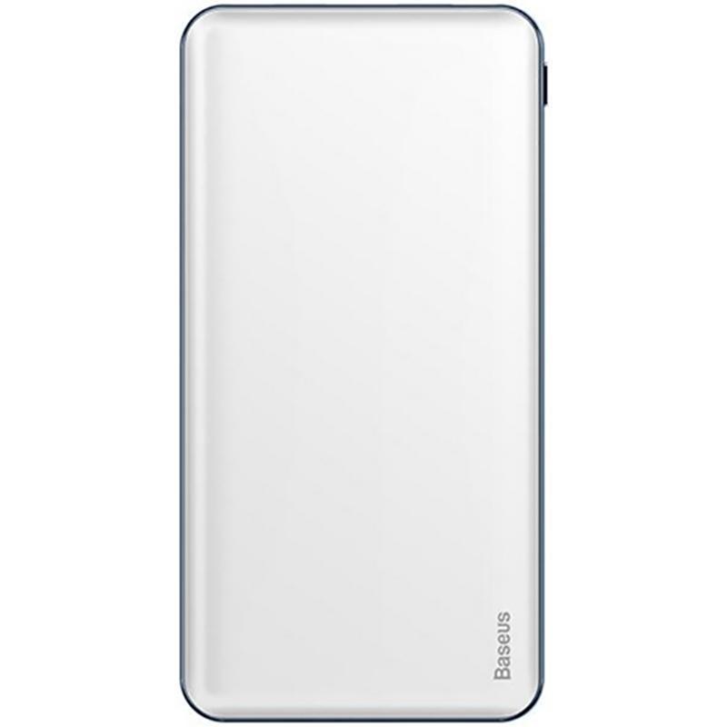 Додаткова батарея Baseus Simbo Smart (10000mAh) White (PPALL-BQB02)