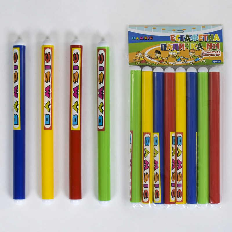 Эстафетная палочка 0356 18 в наборе 8 шт, Bamsic - 219708