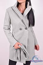 Пальто женское демисезонное (цв. фисташковый) ROMATIC 823 Размер:46