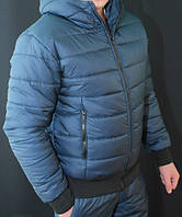 """Стильный, теплый зимний мужской костюм на синтепоне/холлофайбере """"Макс"""", фото 1"""