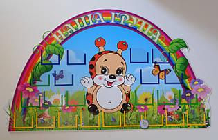 Визитная карточка группы детского сада Божья коровка