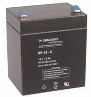 Аккумулятор SUNLIGHT SP12-5, 12В 5 А*ч, фото 1