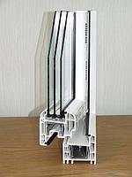 Окна  металлопластиковые REHAU Briliant-70 (Рехау)