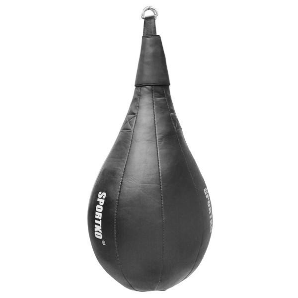 Боксерская груша каплевидная из ременной кожи 3.5 - 4мм( Вес 35кг - 40кг).