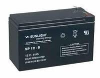 Аккумулятор SUNLIGHT SP12-9 12В 9 А*ч, фото 1