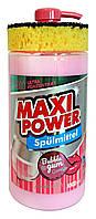 Гель для посуды Maxi Power Ультра концентрат Bubble Gum (дозатор + губка) - 1 л.