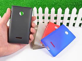 Силиконовый TPU чехол для Microsoft Lumia 532 Dual Sim