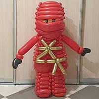 Фигурка из шаров LEGO ниндзяго