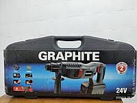 Перфоратор SDS акумул-ний, 24 V Graphite (58G123), фото 1