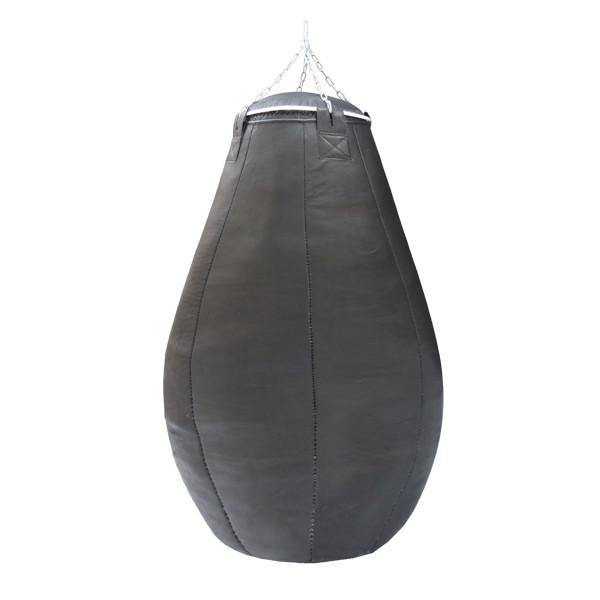 Боксерская груша каплевидная из ременной кожи 3.5 - 4мм( Вес 60 кг).