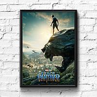 Постер с рамкой Black Panther, Marvel #7
