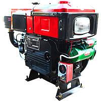 Двигатель дизельный Кентавр ДД1100ВЭ с водяным охлаждением (16 л.с.) с электростартером для минитракторов