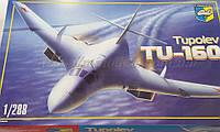 Revell 04257 Сборная модель пассажирского самолёта ТУ 160 в масштабе  1:288