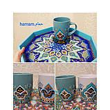 Горнятко біле, чорне, блакитне, коричневе, рожеве, зелене, синє, фото 3