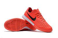 Футзалки (бампы) Nike MagistaX Finale II IC Max Orange/Black/Total Crimson, фото 1