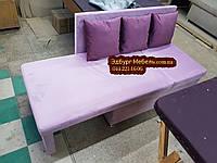 Диван для кухни с боковой раскладкой спального места и ящиком, фото 1