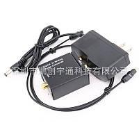 ЦАП аудио конвертер Toslink, коаксиал - аналог RCA + Блок Питания