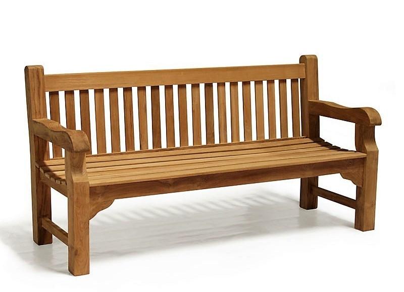 Лавочка скамья со спинкой 1640 х 690 мм. Деревянная лавка в Украине от производителя Garden park bench 06