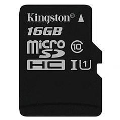 ☇Карта памяти Kingston 16 Gb microSDHC class10 высокоскоростная карта для мобильных телефонов планшетов