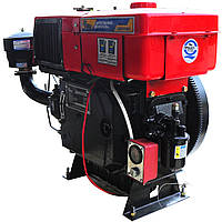 Двигатель дизельный Кентавр ДД1115ВЭ с водяным охлаждением (24 л.с.) с электростартером для минитракторов