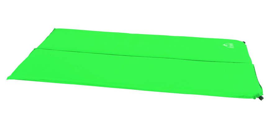 Самонадувающийся 2-місний килимок Mondor Bestway 68057, фото 2