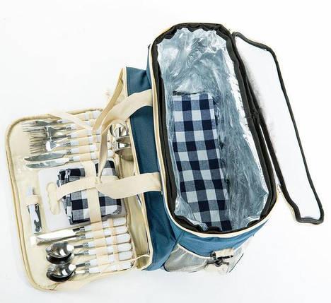 Сумка-холодильник для пикника на 4 персоны CRT26 40х24х33 см походная сумка, фото 2