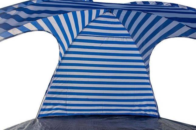 Пляжний Тент Coleman 1038 річний тент від сонця на дачу відпочинок 240х240х160 см, фото 2