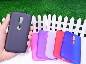 Силиконовый TPU чехол для Motorola Moto G4 Play XT1602