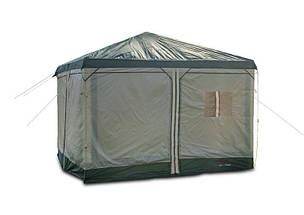 Тент кемпинговый Mimir Х-2902 шатер на 2 входа походный 300х300x250, фото 2