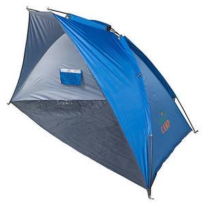 Тент GreenCamp ракушка синий GC0186 палатка каркасная 270 х 140 х 130 см 2 цвета