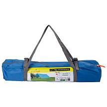 Тент походный для палаток кемпинга GreenCamp 0281 компактный практичный 2 цвета, фото 2
